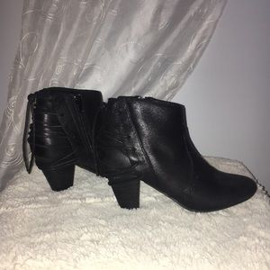 Black fashion booties!